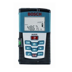 bosch glr225 laser tape measure small